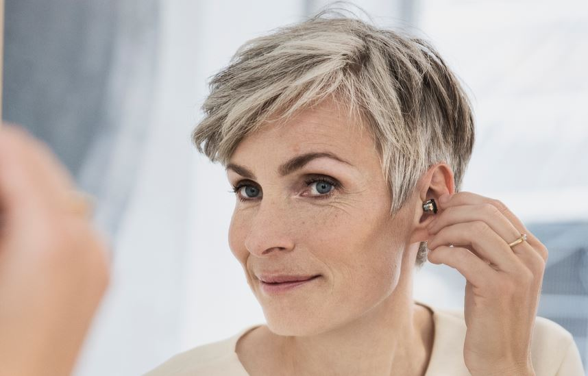 appareil auditif intra-auriculaire profond
