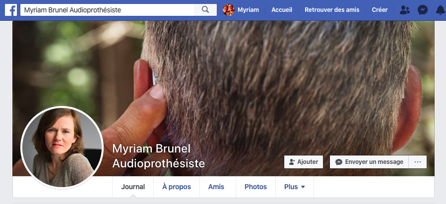 Facebook myriam brunel